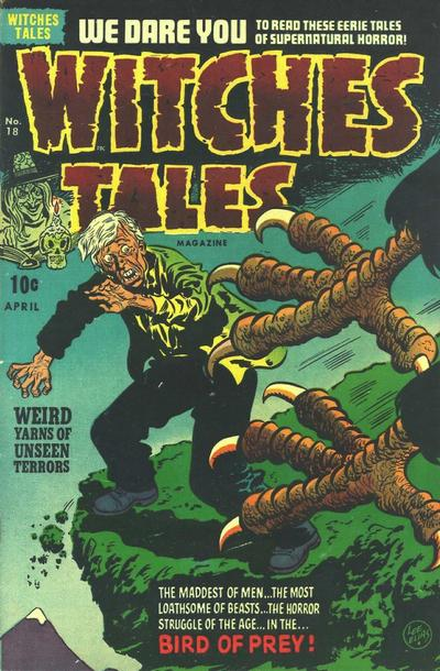 Cover for Witches Tales (Harvey, 1951 series) #18