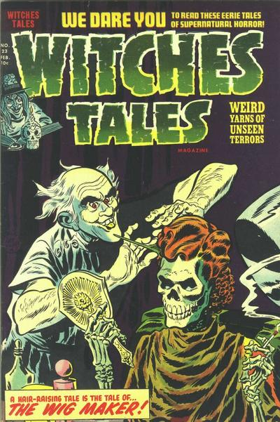 Cover for Witches Tales (Harvey, 1951 series) #23