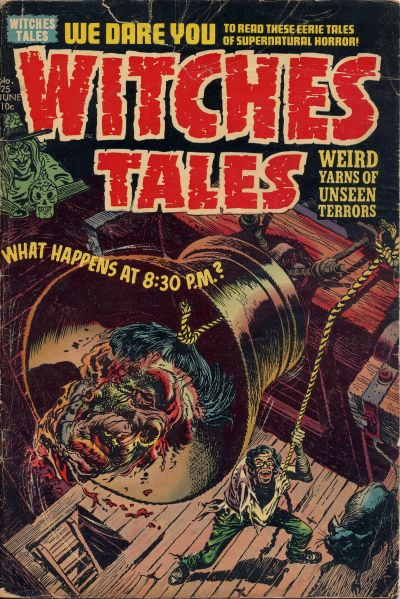 Cover for Witches Tales (Harvey, 1951 series) #25