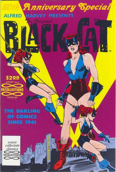 Cover for The Original Black Cat (Lorne-Harvey, 1988 series) #6