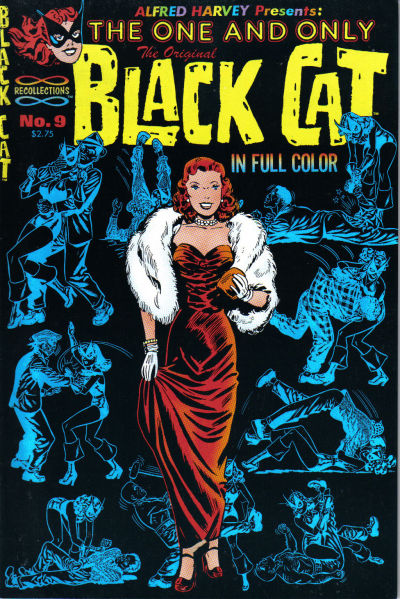 Cover for The Original Black Cat (Lorne-Harvey, 1988 series) #9