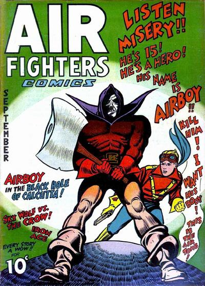 Cover for Air Fighters Comics (Hillman, 1941 series) #v1#12 [12]