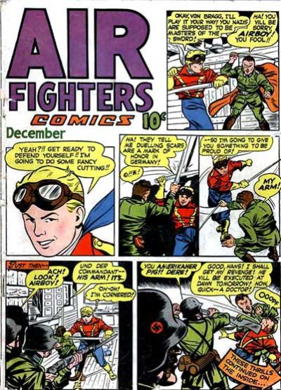 Cover for Air Fighters Comics (Hillman, 1941 series) #v2#3 [15]