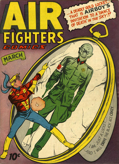 Cover for Air Fighters Comics (Hillman, 1941 series) #v2#6 [18]