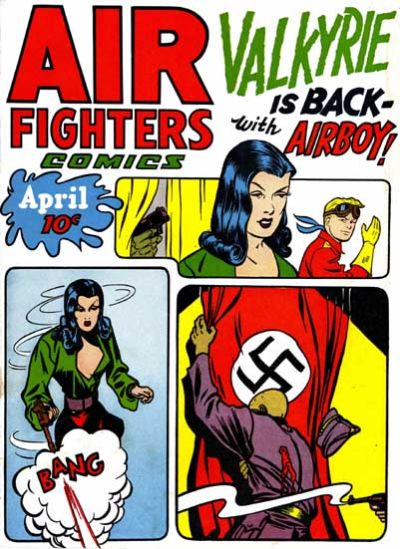 Cover for Air Fighters Comics (Hillman, 1941 series) #v2#7 [19]