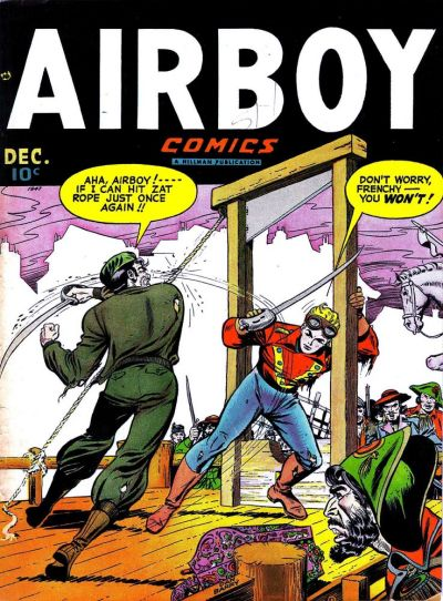 Cover for Airboy Comics (Hillman, 1945 series) #v4#11 [46]