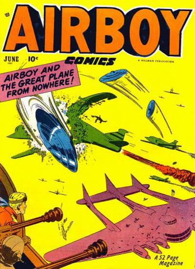 Cover for Airboy Comics (Hillman, 1945 series) #v8#5 [88]