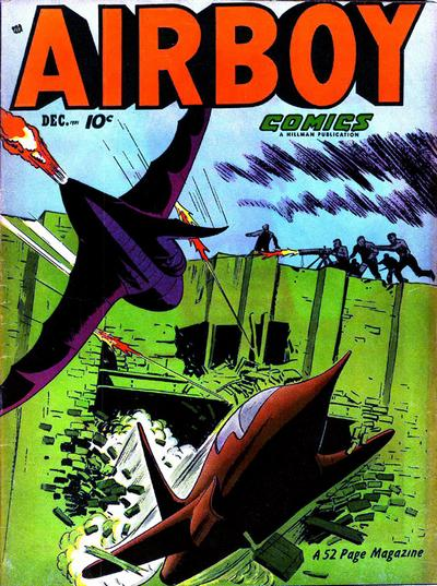 Cover for Airboy Comics (Hillman, 1945 series) #v8#11 [94]