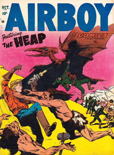 Cover for Airboy Comics (Hillman, 1945 series) #v9#9 [104]