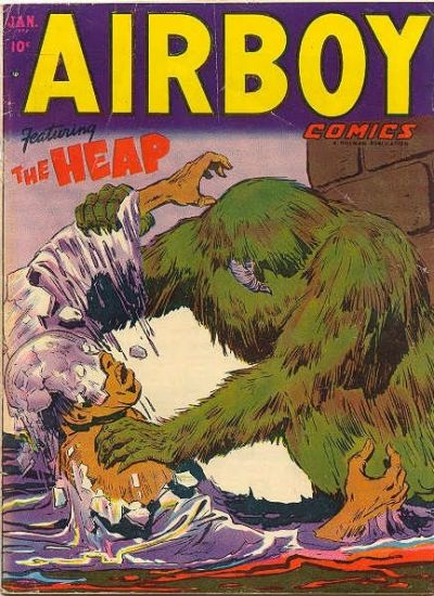 Cover for Airboy Comics (Hillman, 1945 series) #v9#12 [107]