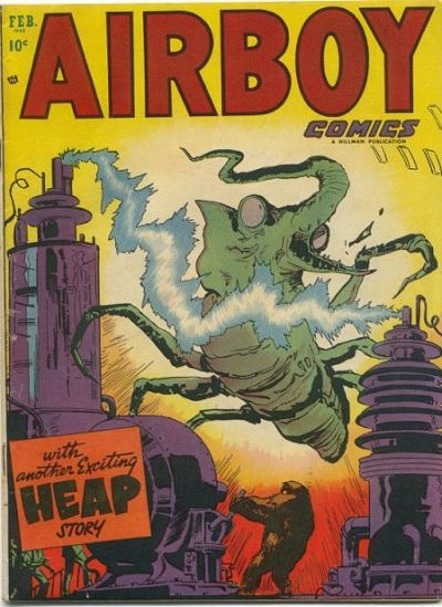 Cover for Airboy Comics (Hillman, 1945 series) #v10#1 [108]