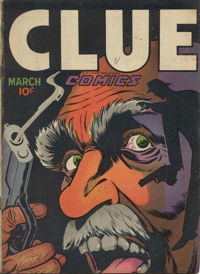 Cover for Clue Comics (Hillman, 1943 series) #v2#1 [13]
