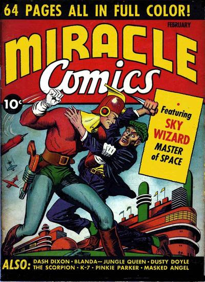 Cover for Miracle Comics (Hillman, 1940 series) #v1#1