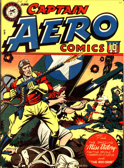 Cover for Captain Aero Comics (Temerson / Helnit / Continental, 1941 series) #v3#13 [15]