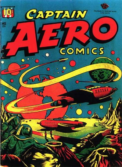 Cover for Captain Aero Comics (Temerson / Helnit / Continental, 1941 series) #26