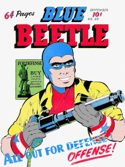 Cover for Blue Beetle (Holyoke, 1942 series) #25