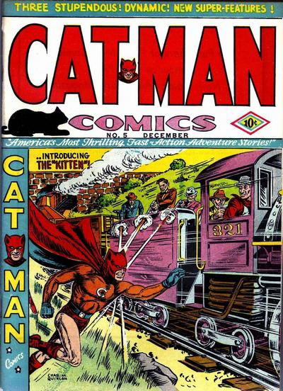 Cover for Cat-Man Comics (Temerson / Helnit / Continental, 1941 series) #v1#10 (5)