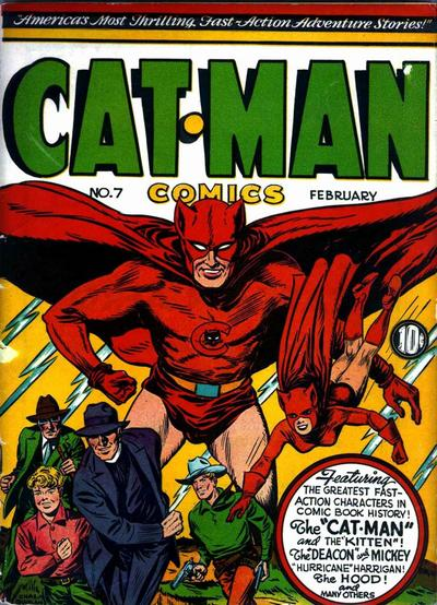 Cover for Cat-Man Comics (Holyoke, 1942 series) #v1#12 (7)