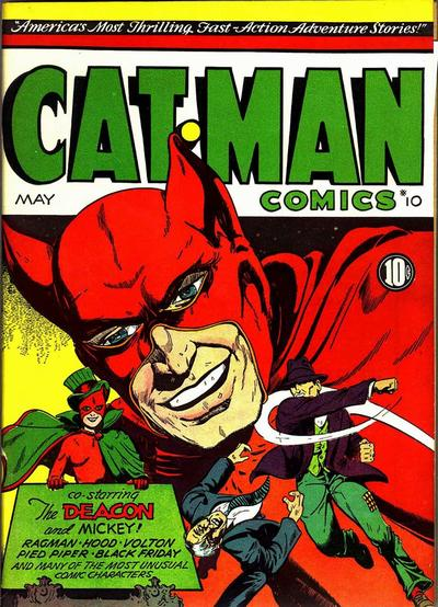 Cover for Cat-Man Comics (Holyoke, 1942 series) #v2#15 (10)