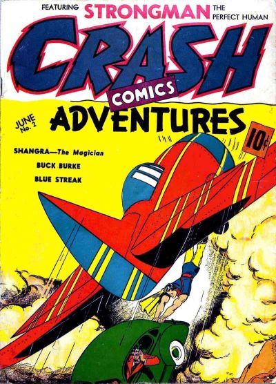 Cover for Crash Comics Adventures (Temerson / Helnit / Continental, 1940 series) #2