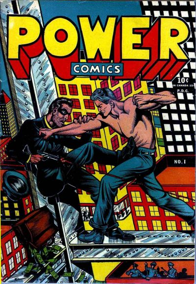 Cover for Power Comics (Narrative, 1945 series) #1