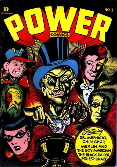 Cover for Power Comics (Narrative, 1945 series) #3