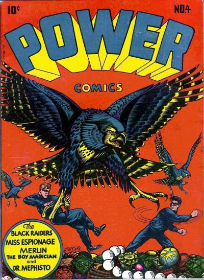 Cover for Power Comics (Narrative, 1945 series) #4