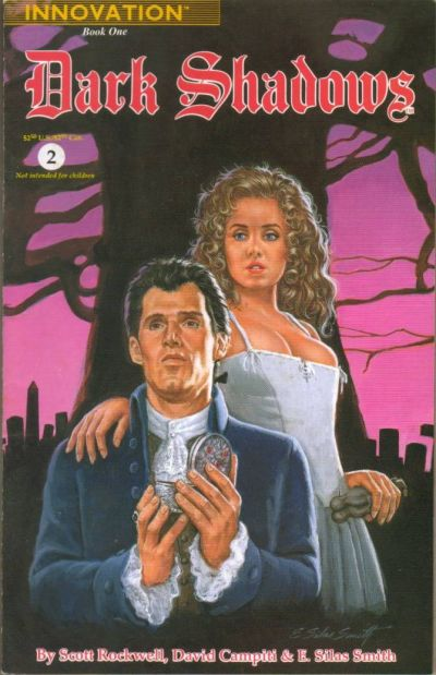 Cover for Dark Shadows: Book One (Innovation, 1992 series) #2