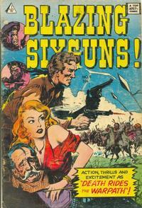 Cover Thumbnail for Blazing Sixguns (I. W. Publishing; Super Comics, 1958 series) #8