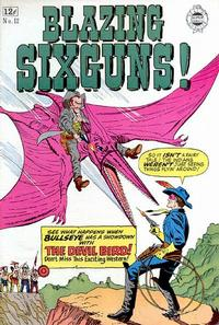 Cover Thumbnail for Blazing Sixguns (I. W. Publishing; Super Comics, 1958 series) #12