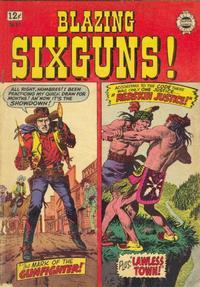 Cover Thumbnail for Blazing Sixguns (I. W. Publishing; Super Comics, 1958 series) #17