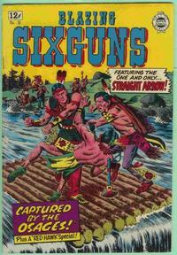 Cover Thumbnail for Blazing Sixguns (I. W. Publishing; Super Comics, 1958 series) #18
