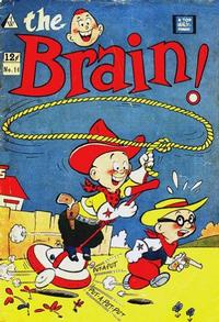 Cover Thumbnail for The Brain (I. W. Publishing; Super Comics, 1958 series) #14