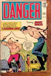 Cover Thumbnail for Danger (I. W. Publishing; Super Comics, 1963 series) #11