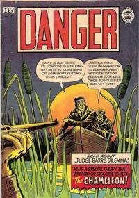 Cover Thumbnail for Danger (I. W. Publishing; Super Comics, 1963 series) #18