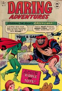 Cover Thumbnail for Daring Adventures (I. W. Publishing; Super Comics, 1963 series) #17