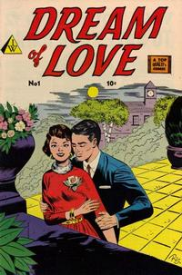 Cover Thumbnail for Dream of Love (I. W. Publishing; Super Comics, 1958 series) #1