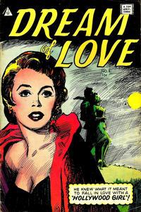 Cover Thumbnail for Dream of Love (I. W. Publishing; Super Comics, 1958 series) #8