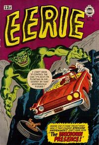 Cover Thumbnail for Eerie Tales (I. W. Publishing; Super Comics, 1963 series) #15