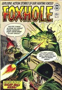 Cover Thumbnail for Foxhole (I. W. Publishing; Super Comics, 1963 series) #11