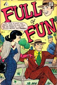 Cover Thumbnail for Full of Fun (I. W. Publishing; Super Comics, 1958 series) #8