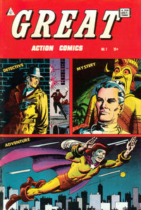 Cover Thumbnail for Great Action Comics (I. W. Publishing; Super Comics, 1958 series) #1