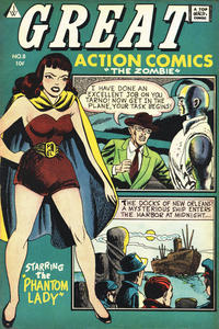 Cover Thumbnail for Great Action Comics (I. W. Publishing; Super Comics, 1958 series) #8