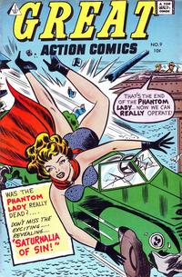 Cover Thumbnail for Great Action Comics (I. W. Publishing; Super Comics, 1958 series) #9