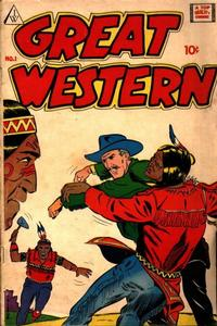 Cover Thumbnail for Great Western (I. W. Publishing; Super Comics, 1958 series) #1
