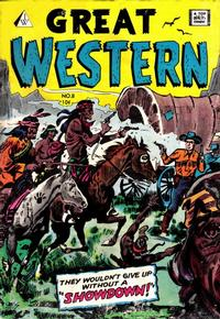Cover Thumbnail for Great Western (I. W. Publishing; Super Comics, 1958 series) #8