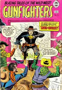 Cover Thumbnail for Gunfighters (I. W. Publishing; Super Comics, 1958 series) #11
