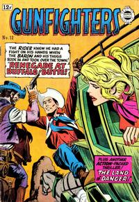 Cover for Gunfighters (I. W. Publishing; Super Comics, 1958 series) #12