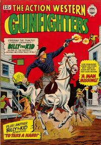 Cover Thumbnail for The Gunfighters (I. W. Publishing; Super Comics, 1958 series) #16