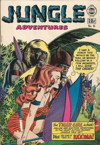 Cover Thumbnail for Jungle Adventures (I. W. Publishing; Super Comics, 1963 series) #15